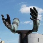 'Both Arms', Millennium Square, Leeds, UK